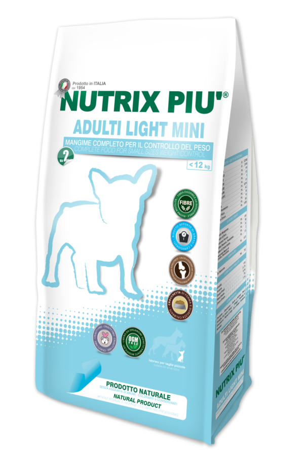 Crocchette Adulti Light Mini Nutrix Più