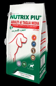 Crocchette Nutrix Più Taglia Media 2 kg per Cani