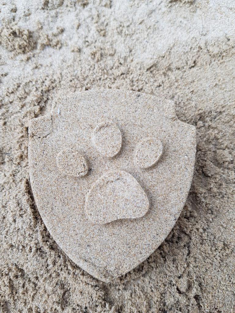 sabbia orma cane spiaggia dog friendly accettare cani